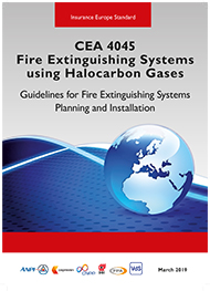 CEA 4045 Fire Extinguishing Systems